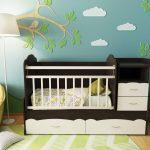 маленькая детская кроватка для детей фото