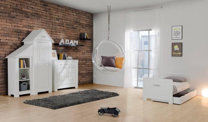 яркая детская мебель для мальчика в детскую комнату дизайн