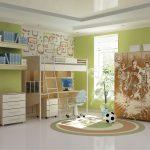 корпусная детская мебель для мальчика в детскую спальню дизайн