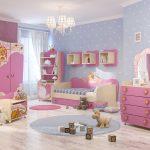 красивая мебель в детскую спальню для девочки фото дизайна