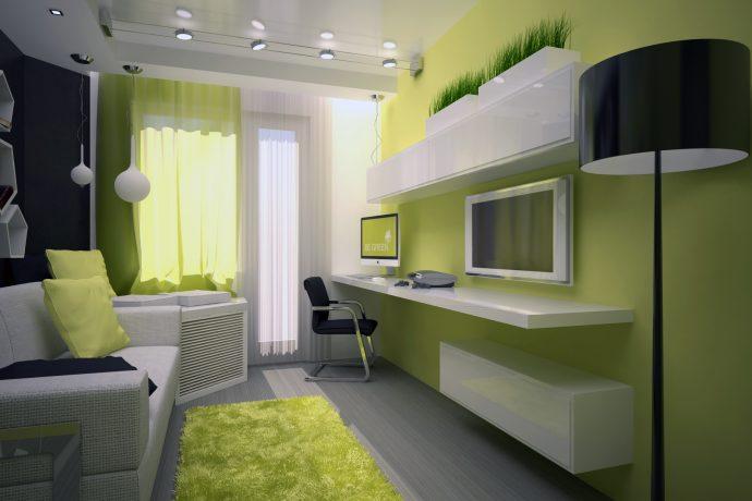 красивая детская комната маленькая