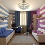 красивая спальня для двух мальчиков дизайн картинка