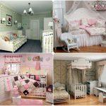 яркая детская комната в стиле прованс для принцессы картинка