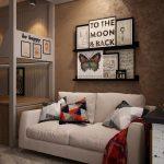 светлая детская комната в лофт стиле фото дизайна