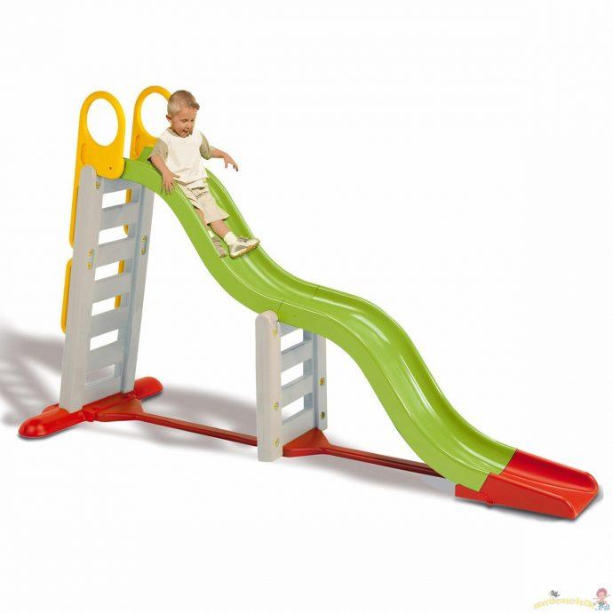 цветная горка детская для развлечений конструкция
