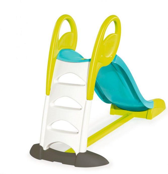 цветная горка для детей вертикально установленная для развлечений