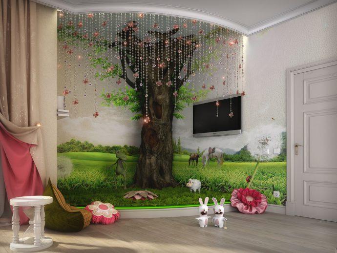 чудесная комната для девочки