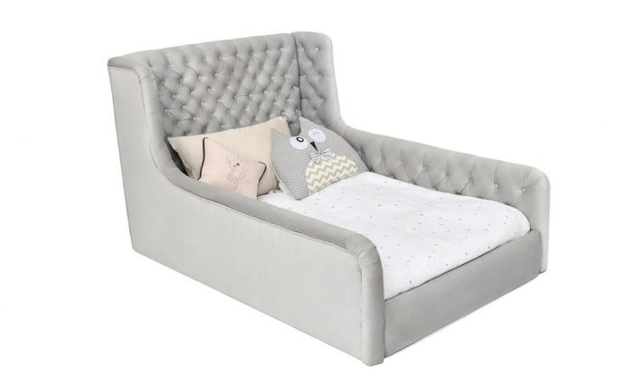 красивая кровать для детей в комнате фото пример