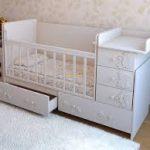 красивая кровать трансформер для ребенка пример