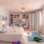 яркая детская мебель в спальню для девочки фото дизайна