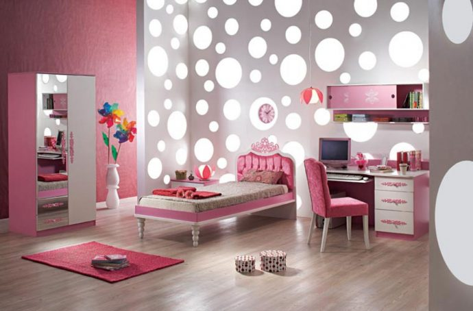 красивая детская спальня девочки