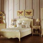 светлая детская комната в стиле прованс для принцессы фото