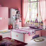 прозрачные шторы в детскую комнату для девочки в интерьере комнаты дизайн