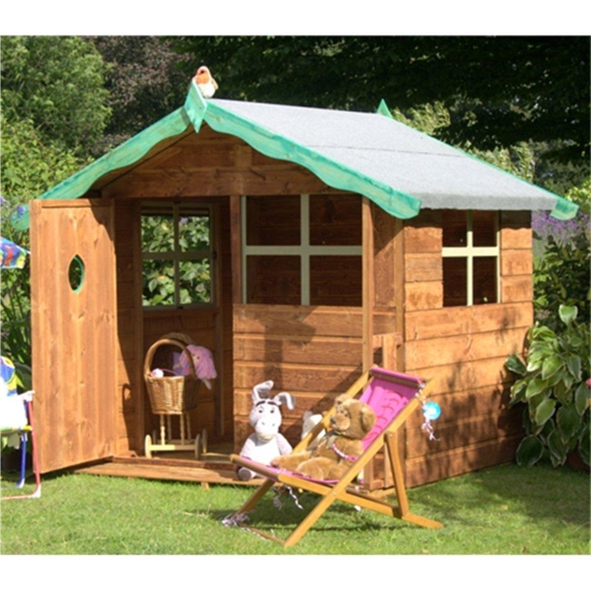 Детские игровые домики для сада своими руками