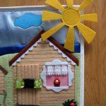 цветной развивающий детский коврик со зверьками картинка