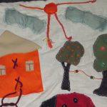 красивый детский коврик со зверьками фото