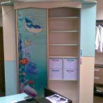 прозрачный шкаф купе в детскую комнату фото