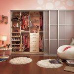 цветной раздвижной шкаф купе в детскую дизайн