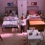 необычная кровать в детской комнате