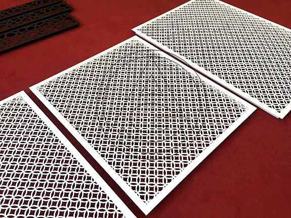 Прямоугольные декоративные решетки