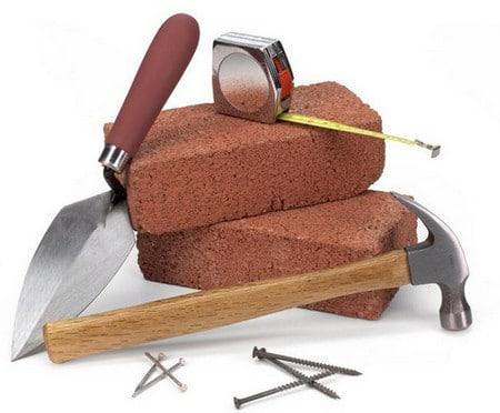 Инструменты для строительства барбекю