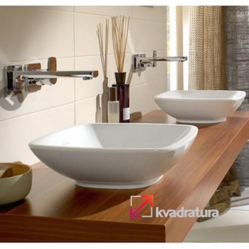 """Накладная раковина в ванную от магазина """"Kvadratura"""""""
