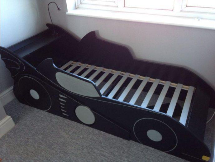 яркая кровать детская сделанная своими руками дизайн