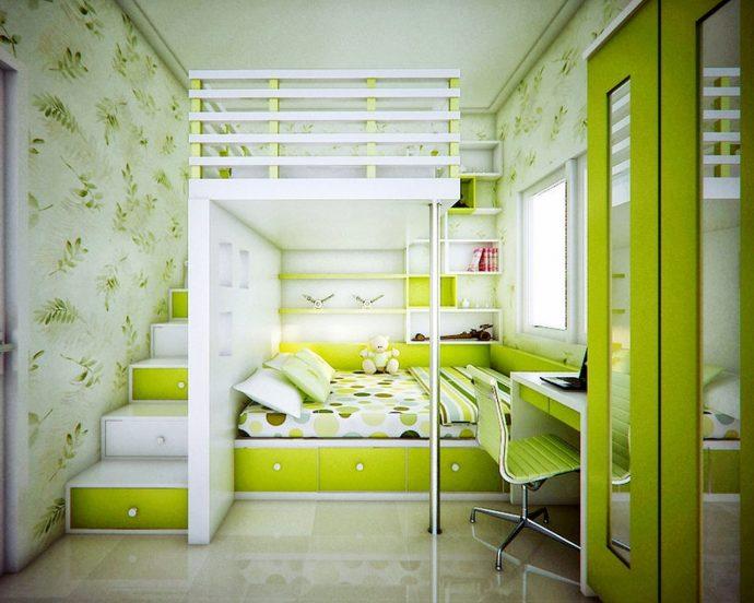 дизайн детской спальни для двойняшек