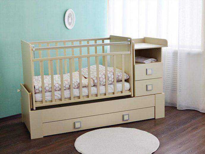 большая кровать маятник для девочка