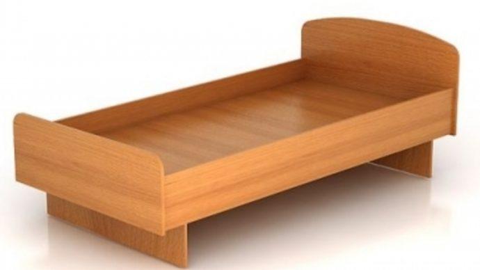красивая детская кровать из подручных материалов дизайн пример конструкции