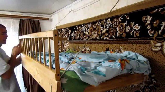 яркая кровать детская своими руками дизайн